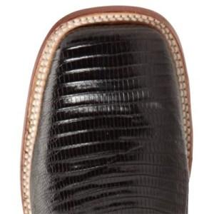 ferrini lizard skin boot square toe