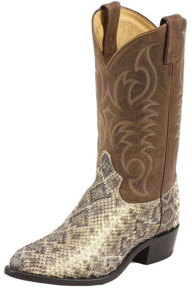 Tony Lama Rattlesnake Skin Boots