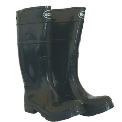 Boss 2KP200111 Men's Black Rubber Boots, Size 11