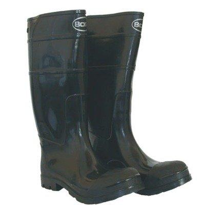 Boss 2KP200111 Men's Black Rubber Boots, Size 11