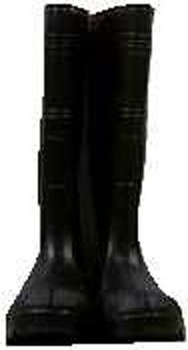 ONGUARD 87401 PVC Men's Buffalo Plain Toe Knee Boots with Lug Outsole, 16″ Height, Black, Size 11