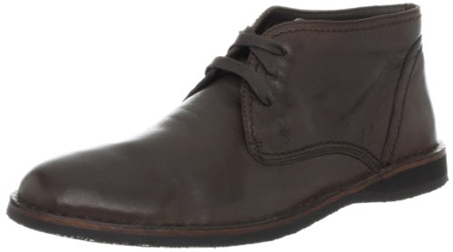 John Varvatos Men's Hipster Chukka Boot,Dk. Brown,10 M Us