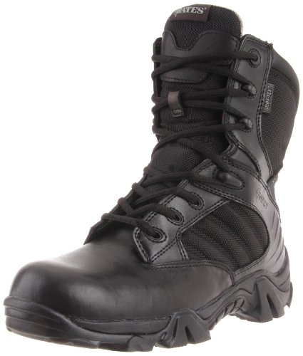 Bates Men's GX-8 8 Inch Ultra-Lites GTX Waterproof Boot, Black, 14 XW US
