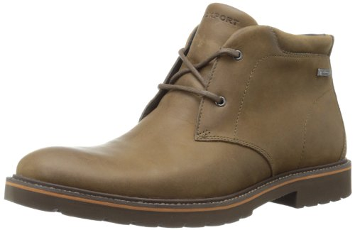 Rockport Men's Ledge Hill Water Proof Chukka Boot,Dark Vicuna,13 M US
