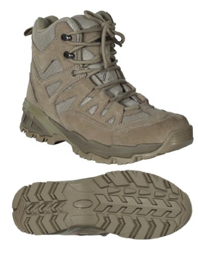 Voodoo Tactical 04-9680 Low Cut 6-Inch Desert Tan Boot Size 8.5