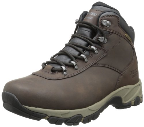 Hi-Tec Men's Altitude V I WP Hiking Boot,Dark Chocolate/Dark Taupe/Black,7 M US