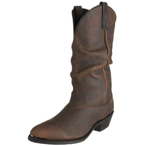 Dingo Men's Brussels Stitched Slouch 12″ Boot,Golden Condor,10.5 D(M) US