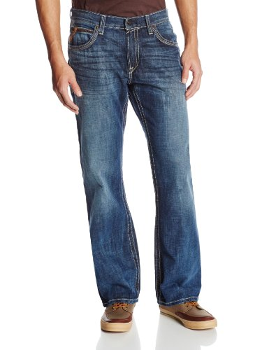 Ariat Men's M4 Low Rise Boot Cut Jean, Cliffhanger, 40×32