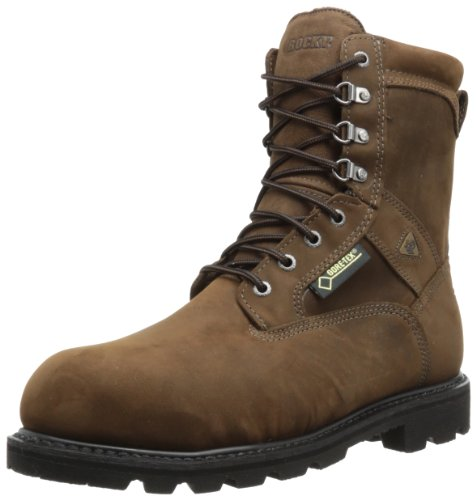 Rocky Men's Ranger Steel Toe Insulated GORE-TEX Boots,Brown,12 M US