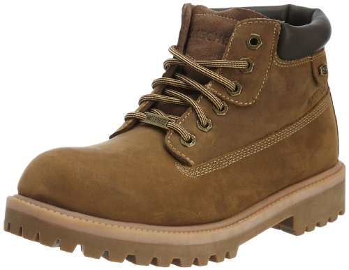 Skechers Men's Sergeants – Verdict Desert Leather 13 M US