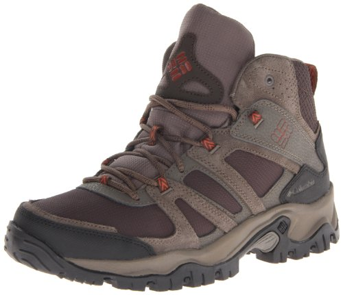 Columbia Men's Woodburn Mid Wide Hiking Boot,Cordovan/Cedar,11 2E US