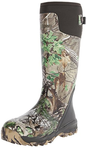 LaCrosse Men's Alphaburly Pro 18″ Hunting Boot,Realtree Xtra Green,10 M US