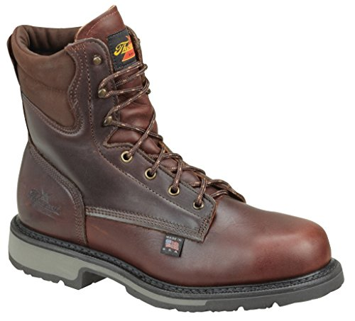 Thorogood American Heritage 8″ Safety Toe Boot, Black Walnut Badlands, 18 3E US