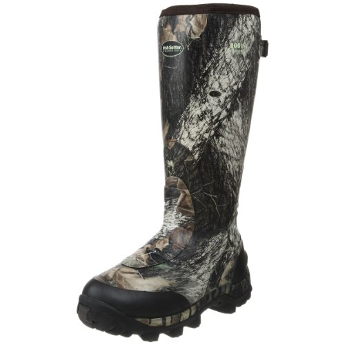 Irish Setter Men's RutMaster WP 800 Gram 17″ Rubber Boot,Mossy Oak Break-up Camouflage,11.5 E US