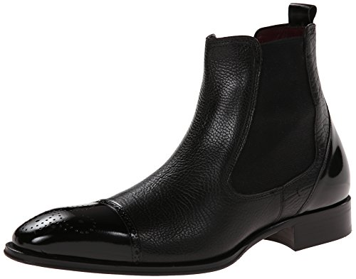 Mezlan Men's Caffi Chelsea Boot,Black,9.5 M US