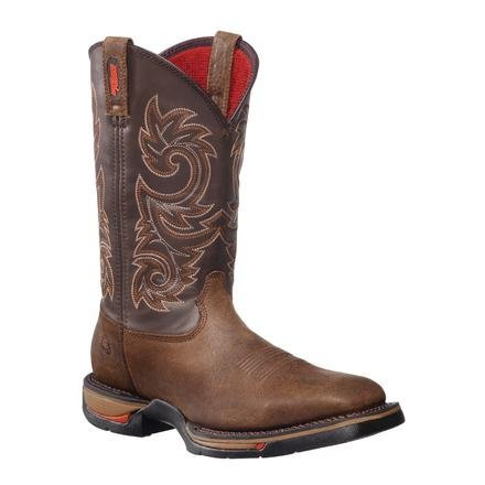 Rocky Men's Long Range Western Boot Coffee US