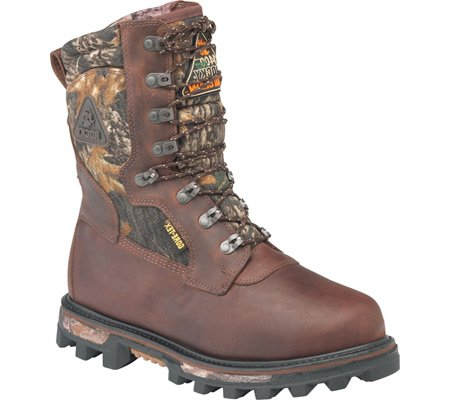 Rocky Men's 10″ Arctic Bearclaw Gore-Tex Waterproof Insulated Outdoor Boot Brown
