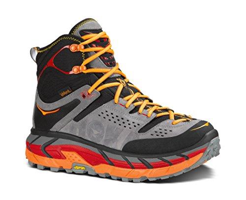 Hoka One One Tor Ultra Hi WP Hiking Boot – Men's Black/Flame, 11.0