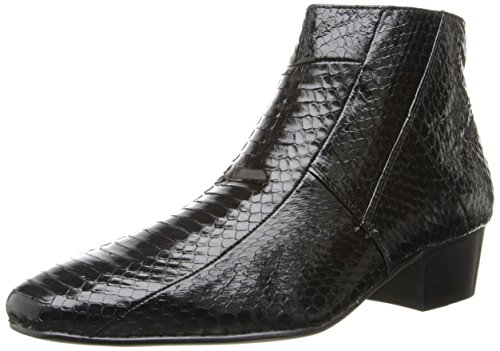 Giorgio Brutini Men's Genuine Snake Skin Look 15549 Boots,Black,11.5 M US