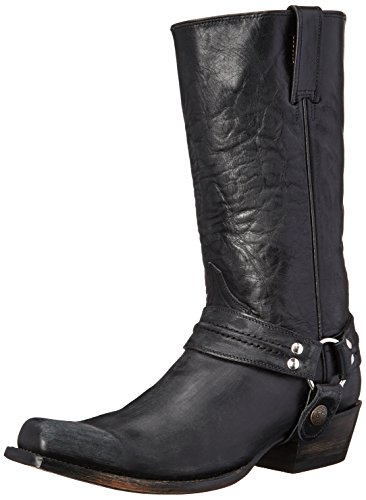 Stetson Men's 12-020-6104-0113 Sanded Black Boot 11.5 EE – Wide
