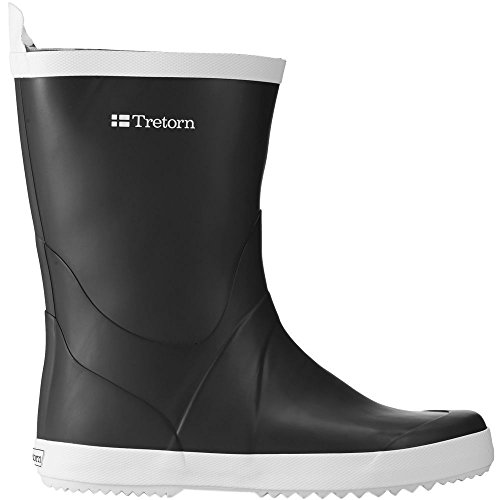 Tretorn Mens Wings Boot Black Size 46 EU (12 M US Men)