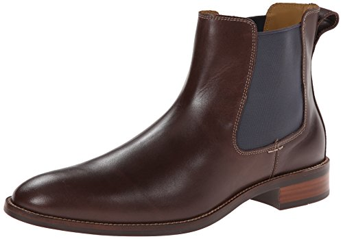 Cole Haan Men's Lenox Hill Chelsea Boot,Chestnut Water Proof,10 M US
