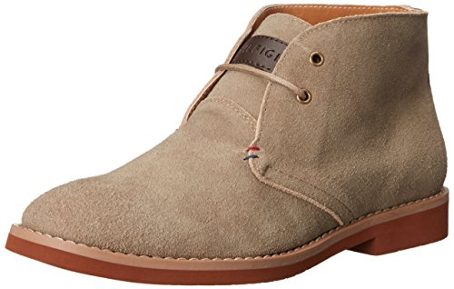 Tommy Hilfiger Men's Sten Oxford, Taupe, 10 M US
