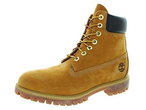 Timberland Men's 10061 6″ Premium Boot,Wheat,8.5 M