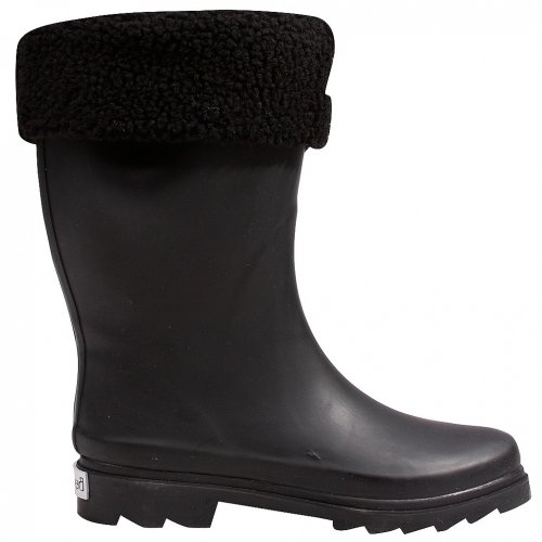 Bearpaw Creekside Youth Rain Boot,Black,1 M US Youth