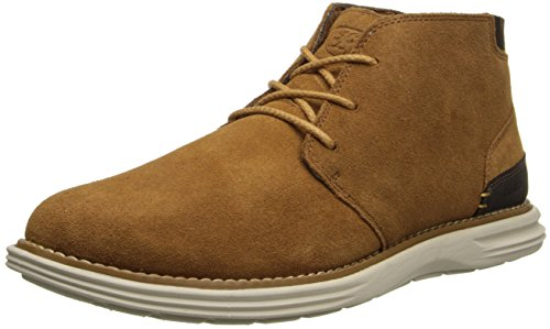 Stacy Adams Men's Aldrin Chukka Boot,Tan Suede,9 M US