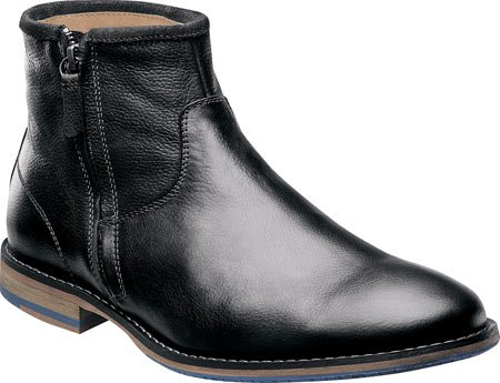 Florsheim Men's Flagstone Zip Chelsea Boot,Black,13 D US