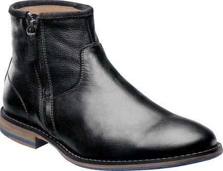 Florsheim Men's Flagstone Zip Chelsea Boot,Black,13 D US