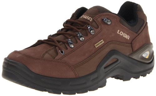 Lowa Men's Renegade II GTX LO Hiking Shoe,Espresso/Brown,12 M US