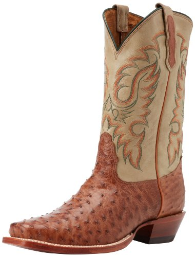 Nocona Boots Men's MD6512 Boot,Cognac Waxy,9.5 D US