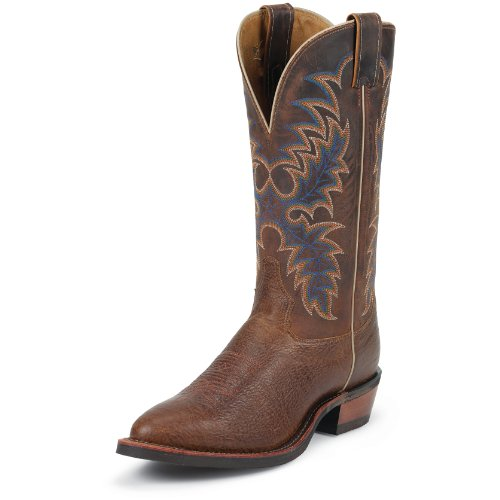 Tony Lama 7952 Men's 13-in Conquistador Shoulder Boot Black 10 D US