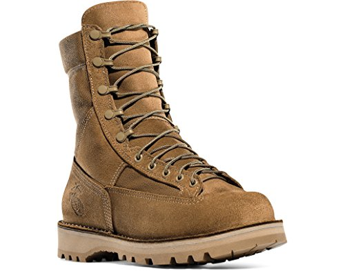 Danner Mens Temperate USMC Desert Military Tan Leather Boot 7.5 B US