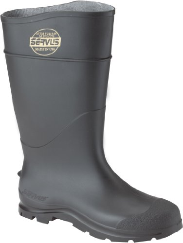 Honeywell Safety 18822-7 Servus CT Economy Hi Boot for Men's, Size-7, Black