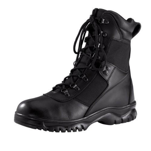 "Rothco 8"" Forced Entry Tactical Boot, Black, 10"