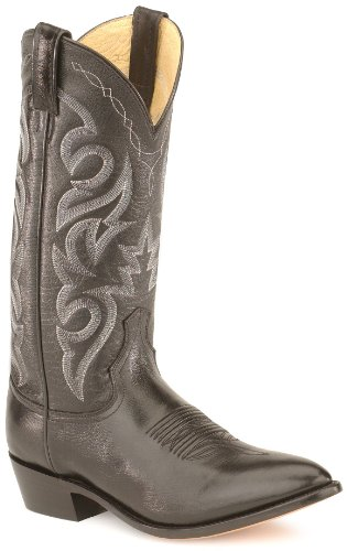 Dan Post Men's Milwaukee JToe 13″ Black Mignon Corona Leather Cowboy Boot 16 D