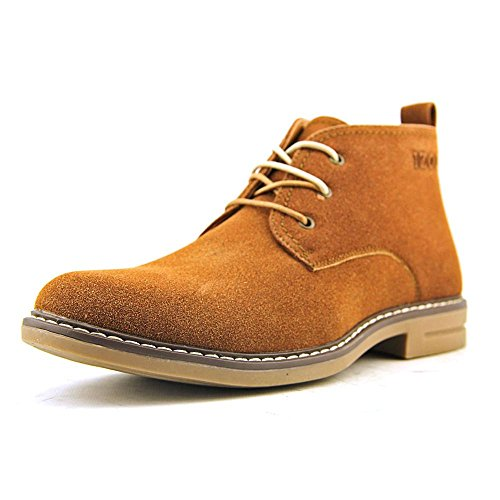 IZOD Men's Cally Chukka Boot,Rust/Tan,9.5 M US