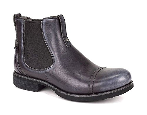 UGG Men's Gallion Black Leather Boot 11 D (M)