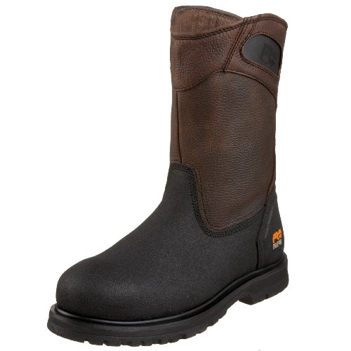 Timberland PRO Men's 53522 Powerwelt Wellington Boot,Rancher Brown,8.5 W