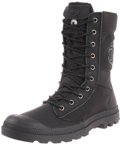 Palladium Men's Pampa Tactical Boot,Black/Metal,8.5 M US