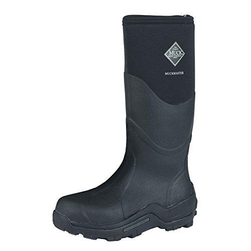 Muck 15 inch Muckmaster Hi Commercial-Grade Boots Black, BLACK, 7M