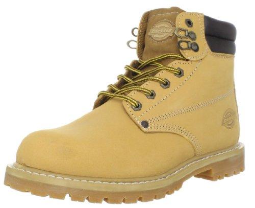 Dickies Men's Raider Steel Toe Work Boot, Black,11 M US