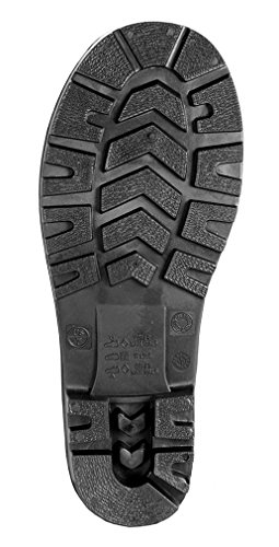 Tingley Men's 15″ Economy PVC Boot Steel Toe,Black,US 13 M