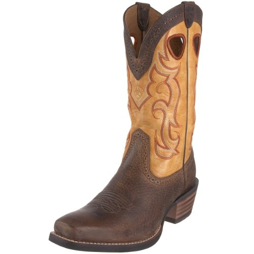 Ariat Men's Rawhide Western Boot,Earth/Seashell,11 M US