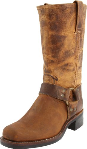 FRYE Men's Harness 12R Boot,Dark Brown-87350,12 M US