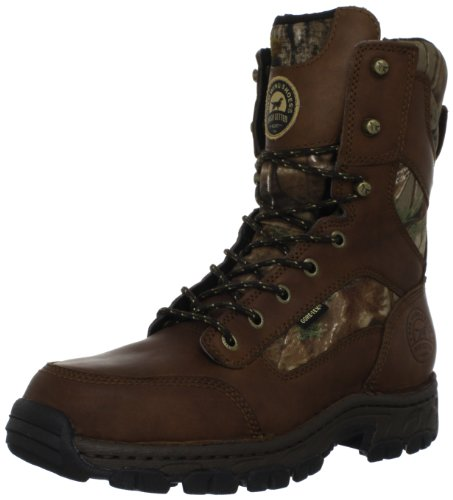 Irish Setter Men's Havoc WP 800 Gram 10″ Big Game Boot,Realtree All Purpose/Brown,14 D US