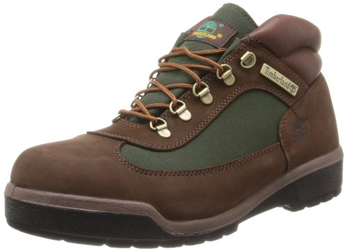 Timberland Men's Icon Field Rain Boot,Brown Nubuck/Olive Green,11 M US